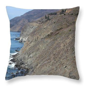 Ragged Point View Throw Pillow