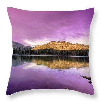 Reflections On Sparks Lake Throw Pillow