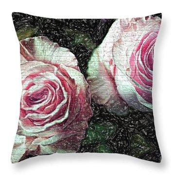 Romantisme Poetique Throw Pillow