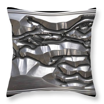 ' Light Rays Through Dark Passages ' Throw Pillow