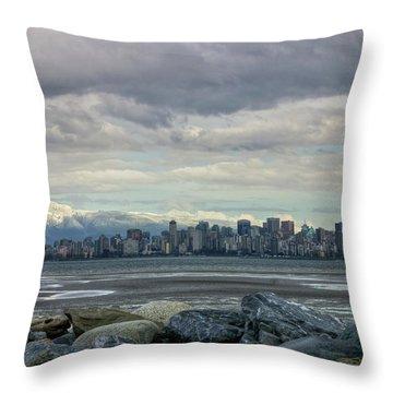 Sea To Sky II Throw Pillow