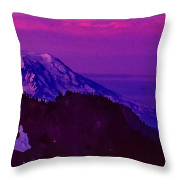 Sunrise Panorama Throw Pillow