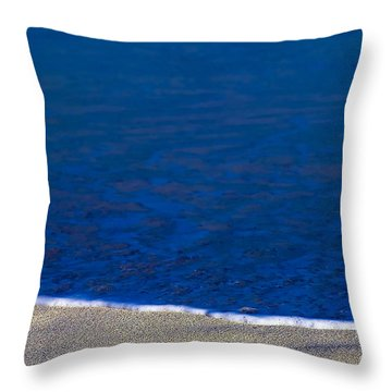 Surfline Throw Pillow by Gary Dean Mercer Clark