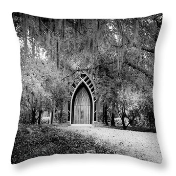 The Baughman Center Throw Pillow by Louis Ferreira