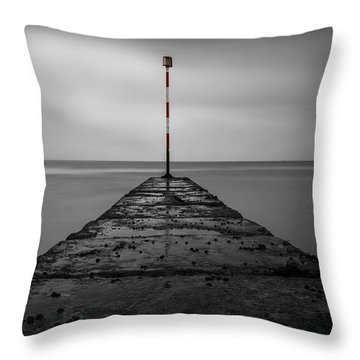 The Red End Throw Pillow