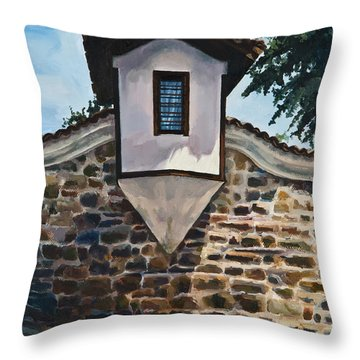 The Small Window Throw Pillow