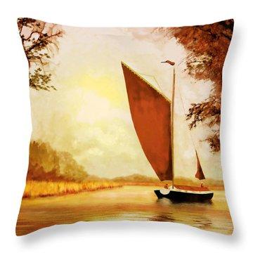 The Wherry Albion Throw Pillow