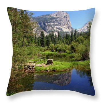 @ Yosemite Throw Pillow
