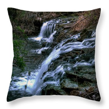 0001 Three Sister Islands Series Throw Pillow