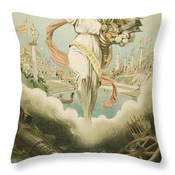 Atlanta Exposition, 1895 Throw Pillow by Granger
