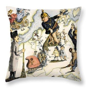 Europe: 1848 Uprisings Throw Pillow by Granger