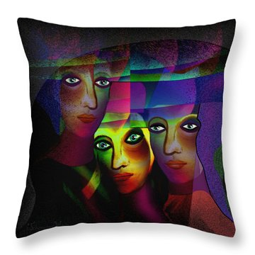 008   Sisters In Pride A Throw Pillow