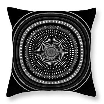 Throw Pillow featuring the digital art #011020153 by Visual Artist Frank Bonilla