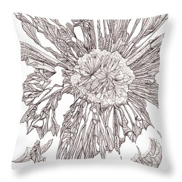 Breaking Free.    0111-1 Throw Pillow by Charles Cater