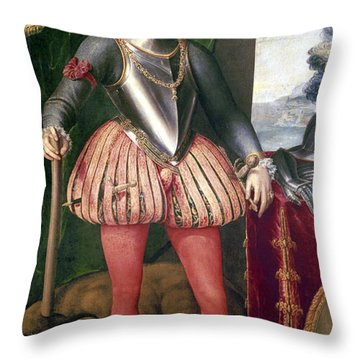 John Of Austria (1547-1578) Throw Pillow by Granger