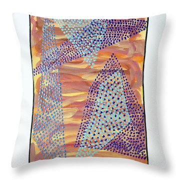 01326 Throw Pillow by AnneKarin Glass