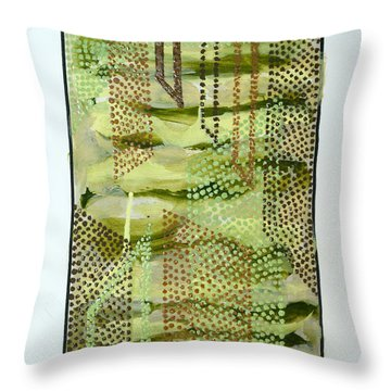 01328 Slide Throw Pillow by AnneKarin Glass