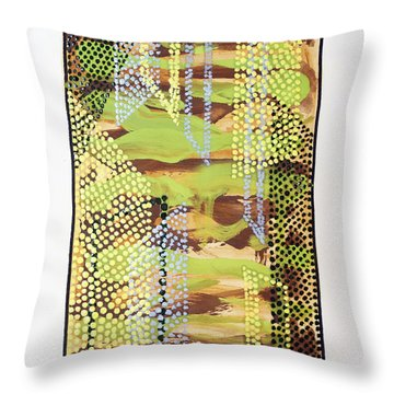 01329 Slip Throw Pillow by AnneKarin Glass