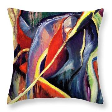 01355 Hot Throw Pillow
