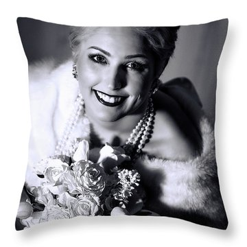 01_7982_a3_bwb_tint Throw Pillow by D Wallace