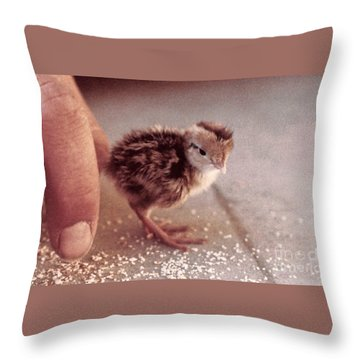 02_contact With Nature Throw Pillow