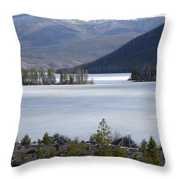 Granby Lake Rmnp Throw Pillow