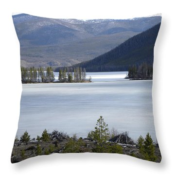 Granby Lake Rmnp Throw Pillow