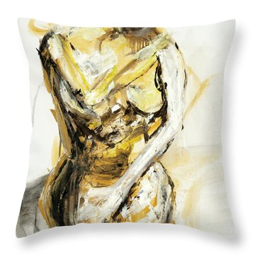 04933 Dust Up Throw Pillow