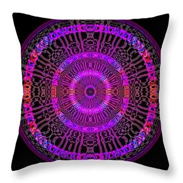 Throw Pillow featuring the digital art #051702158 by Visual Artist Frank Bonilla