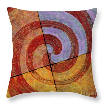 0581 Abstract Thought Throw Pillow