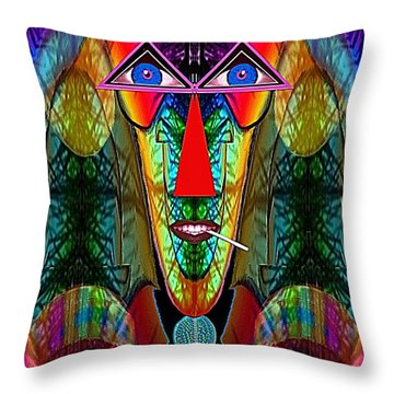 059 - A Party For One A Throw Pillow