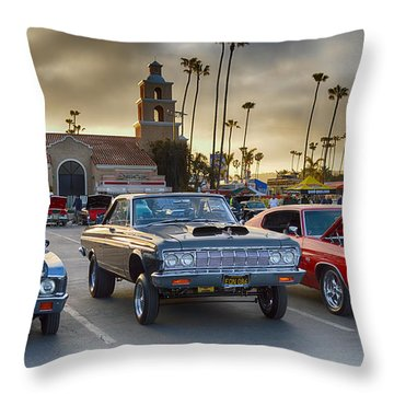 0700 Good Guys Gasser Throw Pillow