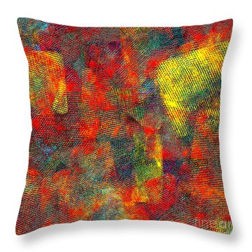 0786 Abstract Thought Throw Pillow