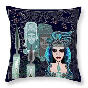 082 - Mystic Child 2017 Throw Pillow