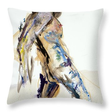 04922 Surprised Throw Pillow