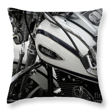 1 - Harley Davidson Series  Throw Pillow