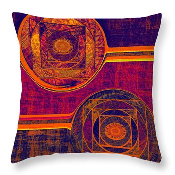 0523 Abstract Thought Throw Pillow