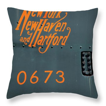 Throw Pillow featuring the photograph 0673 by Karol Livote
