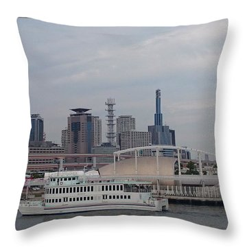 Portcity Throw Pillow