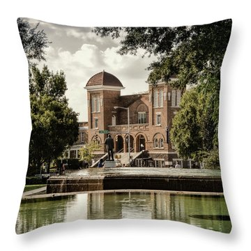 16th Street Baptist Church Throw Pillow
