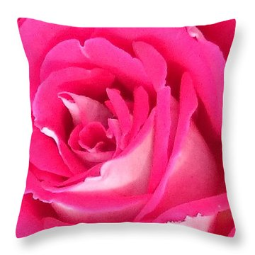 Bara Means Rose Throw Pillow