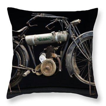 1917 Triumph Model H Throw Pillow