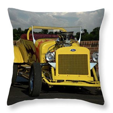1928 Ford Bucket T Hot Rod Throw Pillow