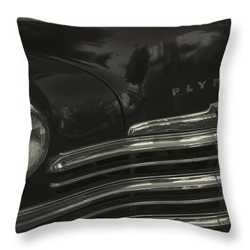 1949 Plymouth Deluxe  Throw Pillow