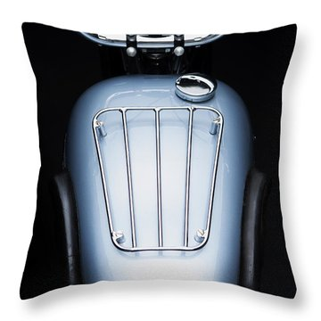 1949 Triumph Trophy Throw Pillow