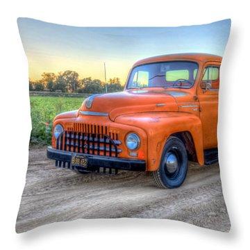 1951 International  Throw Pillow