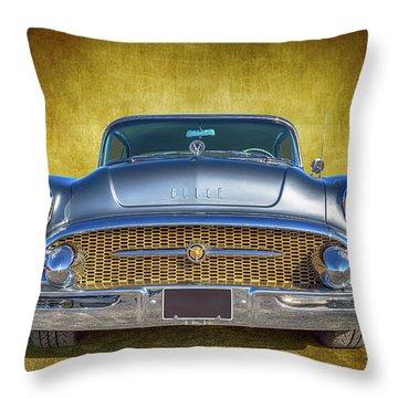 1955 Buick Throw Pillow