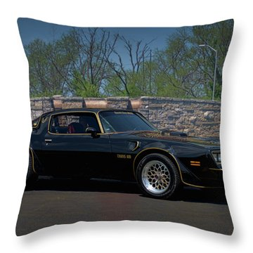 1978 Pontiac Trans Am Throw Pillow