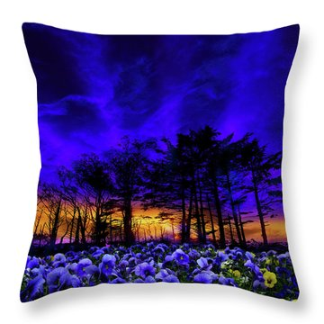 Throw Pillow featuring the photograph 4413 by Peter Holme III