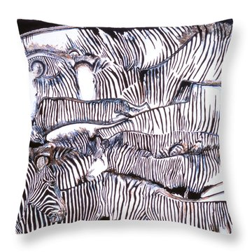 A Face In The Crowd  Throw Pillow